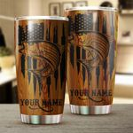 Felacia [Tumbler] Custom Striped Bass Fishing Stainless steel beer, coffee  - adult and kids - best Birthday, Christmas gifts for Fishing Lovers - IPHW38C3924