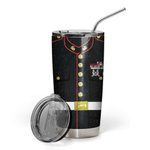 Felacia [Tumbler] Marine Uniform Custom Name C4546