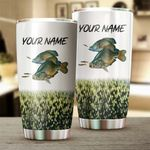 Felacia [Tumbler] Crappie Fishing Customize name Personalized Fishing gift for fisherman - IPH1070C3583