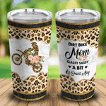 Felacia [Tumbler] Dirt Bike Mom Classy Sassy A Bit Of Smart Assy Leopard C3460