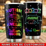 Felacia [Tumbler] I Am An Autism Mom For Autism Awareness MonthC0642