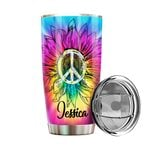 Felacia [Tumbler] Personalized name drinkware family gift ideas for family friends - Hippie Tie Dye TY18022116 C3039