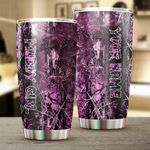 Felacia [Tumbler] Muddy girl camo Custom name Cup Personalized gifts for girls women - FSD1139C3671