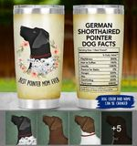 Felacia [Tumbler] Pointer Dog Facts - Personalized Pointer Mom C5967