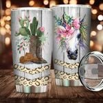 Felacia [Tumbler] Boots And Flowers - Beautiful Horse - Best Gift For Horse IdeaC5766