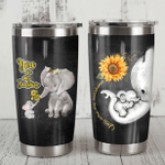 Felacia [Tumbler] Gift For Elephant Lover Gift For Mom You Are My Sunshine Elephant Mom And Baby CHMC2889
