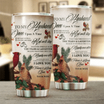 Felacia [Tumbler] Special Gift To My Husband, Cardinal Couple Lovely C0817