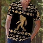 Felacia [Hawaii Shirt] Bigfoot Tribal Hawaiian Aloha Shirts-ZX0639