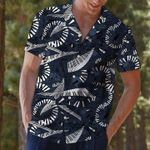 Felacia [Hawaii Shirt] Piano Flying Music Love Hawaiian Aloha Shirts-ZX2184