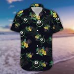 Felacia [Hawaii Shirt] Black Billiard Tropical Unisex #230321h-ZX1948