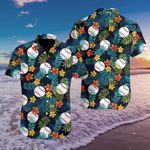 Felacia [Hawaii Shirt] Baseball Simple Hibiscus Fantastic #0309h-ZX2230