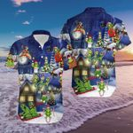 Felacia [Hawaii Shirt] Frogs On Night Christmas-ZX1682