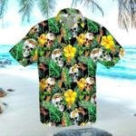 Felacia [Hawaii Shirt] Summer Vibe Skull Bali Tropical Hawaiian Aloha Shirts-ZX1982