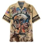 Felacia [Hawaii Shirt] Veterans Memorial Home Of The Free Because Of The Brave -ZX2861
