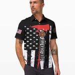 Felacia [Hawaii Shirt] Firefighter US Flag-ZX0892