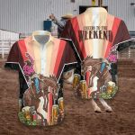 Felacia [Hawaii Shirt] Rodeo and Beer Cheers to the Weekend -ZX2423