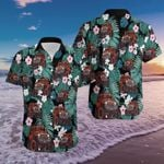 Felacia [Hawaii Shirt] Amazing Jeep Tropical Hawaiian Aloha Shirts-ZX0832