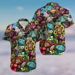 Felacia [Hawaii Shirt] Dice Luck Is In Small Things #1004KV-ZX2395