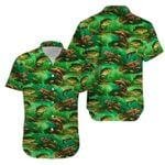 Felacia [Hawaii Shirt] Fishing Boat Trout -ZX0754