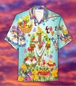 Felacia [Hawaii Shirt] Happy Easter May The World Find Peace #803DH-ZX3007