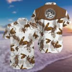 Felacia [Hawaii Shirt] Mr Cigar Brown White Aloha #2701kv-ZX1805