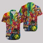 Felacia [Hawaii Shirt] Beautiful Drum Painting Art #111220dh-ZX1823