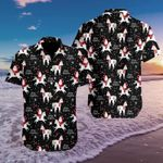 Felacia [Hawaii Shirt] Funny Santa And Unicorn Pattern #1310l-ZX2301