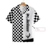 Felacia [Hawaii Shirt] Personalized Name Checkboard Style Golf #L-ZX2528