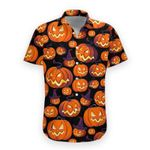 Felacia [Hawaii Shirt] Pumpkin Halloween -zx4069