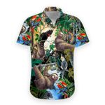 Felacia [Hawaii Shirt] Sloth -zx4024