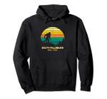 Retro South Farmingdale, New York Bigfoot Souvenir Pullover Hoodie, T Shirt, Sweatshirt