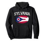 SYLVANIA OH OHIO Flag Vintage USA Sports Men Women Pullover Hoodie, T Shirt, Sweatshirt