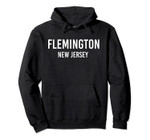 FLEMINGTON NEW JERSEY NJ USA Patriotic Vintage Sports Pullover Hoodie, T Shirt, Sweatshirt