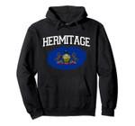 HERMITAGE PA PENNSYLVANIA Flag Vintage USA Sports Men Women Pullover Hoodie, T Shirt, Sweatshirt