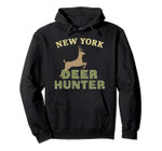 New York Deer Hunter Hunting Gift Pullover Hoodie, T Shirt, Sweatshirt