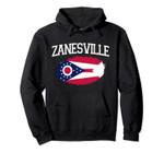 ZANESVILLE OH OHIO Flag Vintage USA Sports Men Women Pullover Hoodie, T Shirt, Sweatshirt