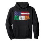 Irish American Flag Pennsylvania St. Patrick's Day Vintage Pullover Hoodie, T Shirt, Sweatshirt
