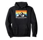 Vintage Bellfountain, Oregon Mountain Hiking Souvenir Print Pullover Hoodie, T Shirt, Sweatshirt