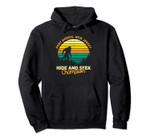 Retro Port Norris, New Jersey Big foot Souvenir Pullover Hoodie, T Shirt, Sweatshirt