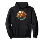 Vintage Velarde, New Mexico Mountain Hiking Souvenir Print Pullover Hoodie, T Shirt, Sweatshirt