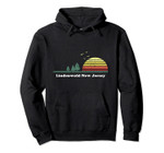 Vintage Lindenwold, New Jersey Sunset Souvenir Print Pullover Hoodie, T Shirt, Sweatshirt