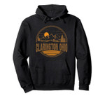 Vintage Clarington, Ohio Mountain Hiking Souvenir Print Pullover Hoodie, T Shirt, Sweatshirt