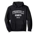Strongsville Ohio OH Vintage Established Sports Design Pullover Hoodie, T Shirt, Sweatshirt