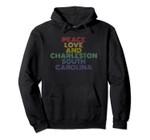 Charleston South Carolina retro vintage Pullover Hoodie, T Shirt, Sweatshirt