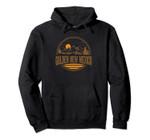 Vintage Golden, New Mexico Mountain Hiking Souvenir Print Pullover Hoodie, T Shirt, Sweatshirt