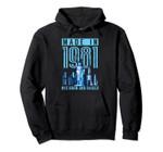 Made in 1981 New York City Born and Raised 38 Birthday Pullover Hoodie, T Shirt, Sweatshirt