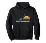 Vintage Mount Healthy, Ohio Sunset Souvenir Print Pullover Hoodie, T Shirt, Sweatshirt