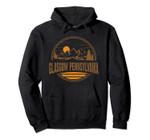 Vintage Glasgow, Pennsylvania Mountain Hiking Print Pullover Hoodie, T Shirt, Sweatshirt