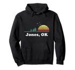 Vintage Jones, Oklahoma Home Souvenir Print Pullover Hoodie, T Shirt, Sweatshirt