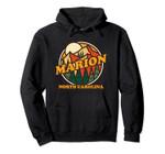 Vintage Marion North Carolina Mountain Hiking Souvenir Print Pullover Hoodie, T Shirt, Sweatshirt